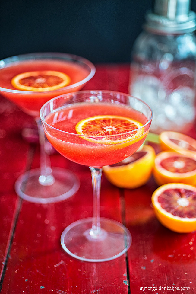 Cocktail Friday: Blood orange cosmopolitan