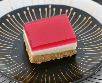 Easy Jelly Slice (Conventional & Thermomix Methods)