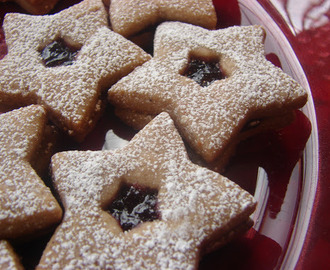 Linzer Cookies with Milk Chocolate- the World's Christmas Cookie and One of the Most Popular Cookies on the Planet