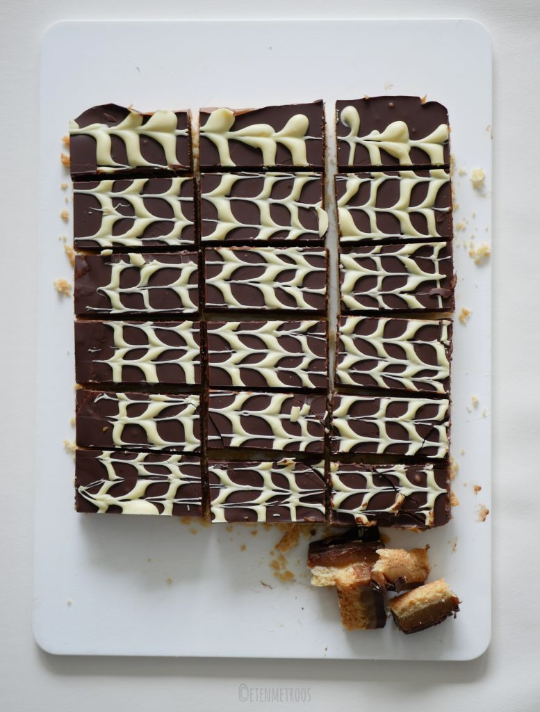Million Dollar Shortbread, oftewel chocolade karamelkoek
