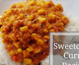 Sweetcorn Curry Recipe