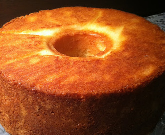 Old-fashioned Sour Cream Pound Cake - you just can't improve on perfection!