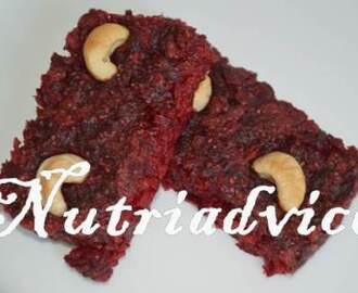 Healthy Beetroot Flapjacks