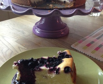 New York Blueberry Cheesecake