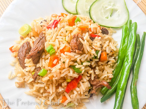Vegetable Coconut rice