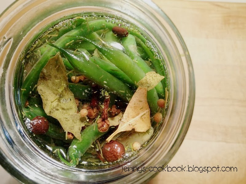 Quick Pickled Beans - Secret Recipe Club