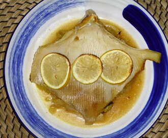 Baked Skate with Fennel and Lemon Recipe