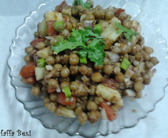Chick pea chaat (Chana Chaat)