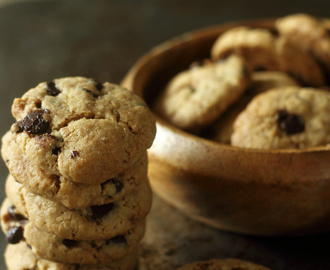 Chocolate Chip Cookies: Best Eggless Recipe