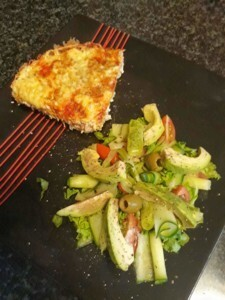 BANTING  / LOW CARB TUNA QUICHE