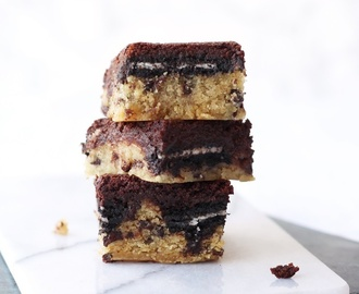 Slutty Brownies {vegan}