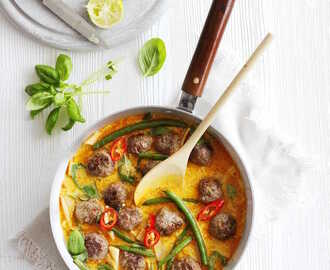 Red Thai Meatball Curry – BBC Good Food