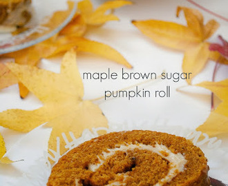 Give Thanks + A Maple Brown Sugar Pumpkin Roll