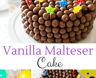Malteser Birthday Party Cake