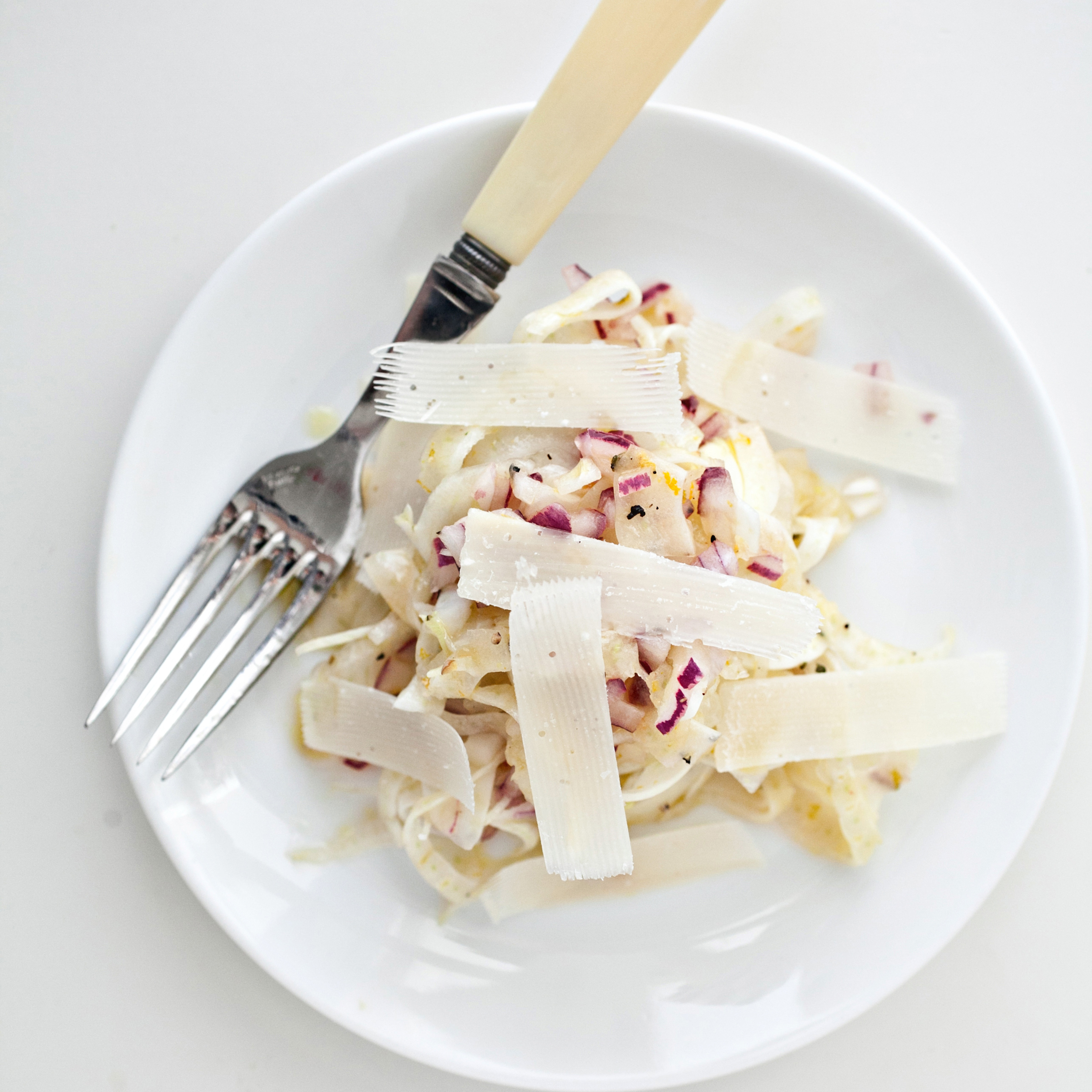 Fennel and Red-Onion Salad with Parmesan