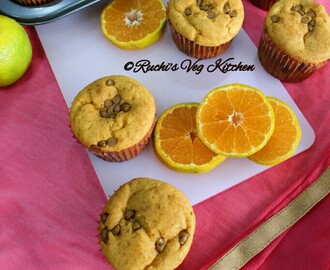 EGGLESS WHEAT ORANGE CUPCAKES