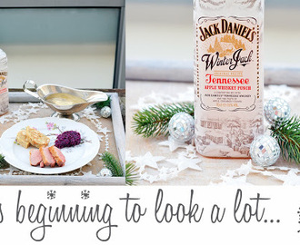 It's beginning to look a lot like Christmas mit Jack Daniel's Winter Jack