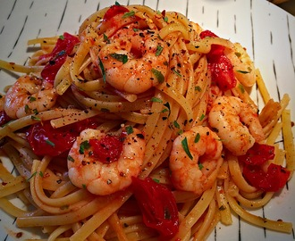 Prawn Linguine Recipe