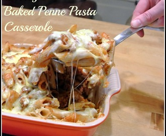 Cheesy Baked Penne Casserole
