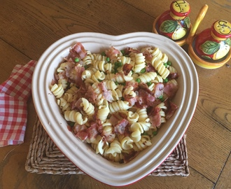 BP & P  (Bacon, peas and pasta)