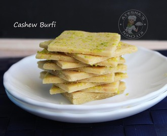INDIAN SWEETS - KAJU BURFI / CASHEW BURFI