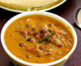 Kadalai Curry / கடலை கறி - A Chick pea curry for Aappam - Tamizhar Samayal Tuesdays