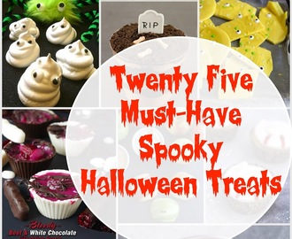 25+ Must-Have Spooky Halloween Treats