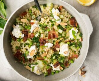 parelcouscous met bacon