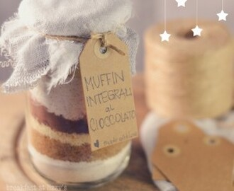 Idea regalo: muffin in barattolo