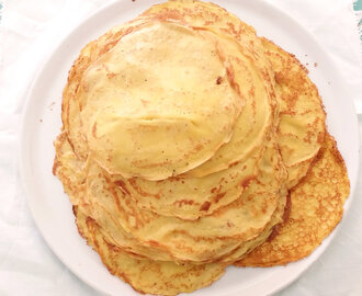 Crepes salate, ricetta base