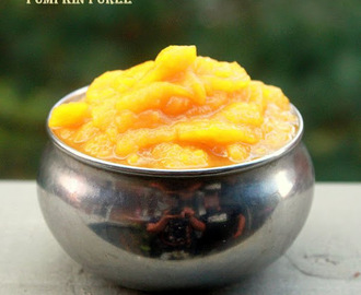 PUMPKIN PUREE - PRESSURE COOKER METHOD