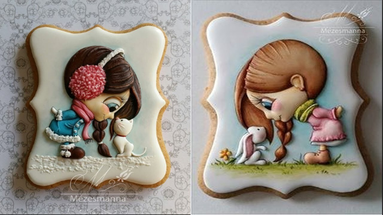 Top 20 Amazing Cute Cookies Art Decorating Ideas Compilation - Awesome Cookies - Cakes Style 2017