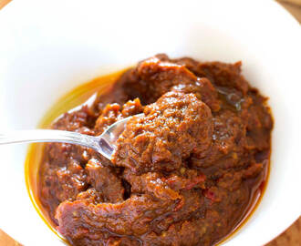 Ajvar (Serbian Red Pepper Spread)