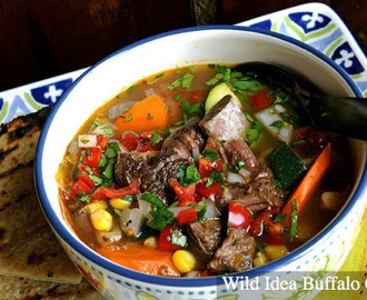 Wild Idea Buffalo Recipe of the Week - Caldo de Bisonte (Bison Soup)