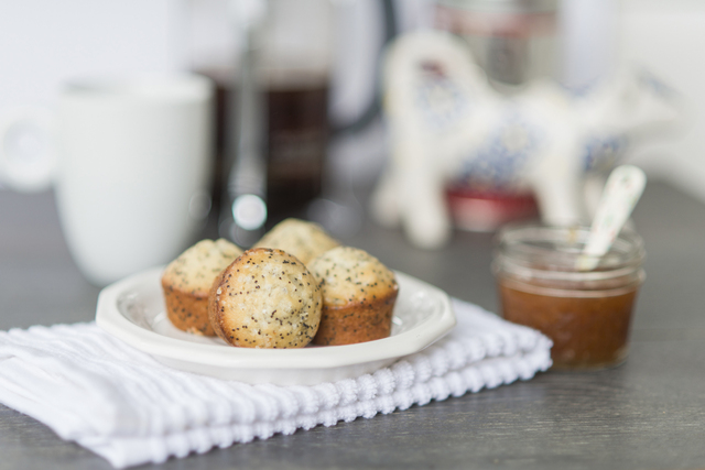 Poppy Seed Muffins & the perfect pick-me-up