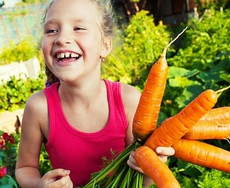 How to Get Kids to Grow their Own Food
