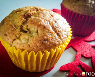 Banana, Honey and Peanut Butter Muffins