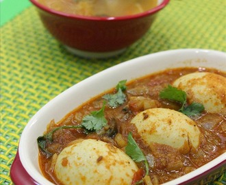 Punjabi Egg Masala – Anda Curry Recipe