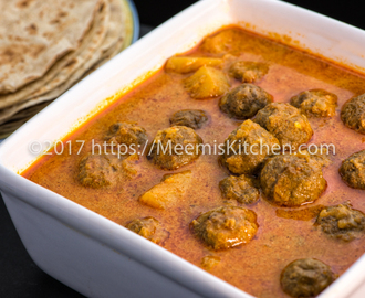 Meatball Curry / Kerala Meat Ball Curry - MeemisKitchen
