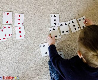 4 Simple Card Games - Busy Toddler