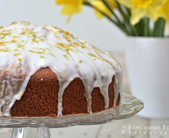Spring Lemon and lime drizzle cake - gluten free