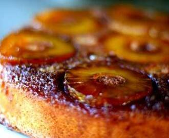 Pineapple upside down cake from Mona Snell