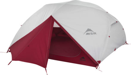 MSR Elixir 4 Backpacking Tent Light Grey 2018 4-Personer eller fler tält
