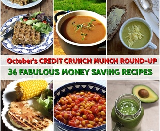 October's Credit Crunch Munch Round-up – 36 Money Saving Recipes