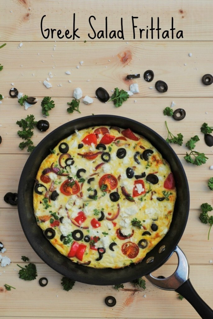 Greek Salad Frittata