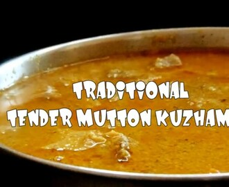 TRADITIONAL TENDER MUTTON KUZHAMBU