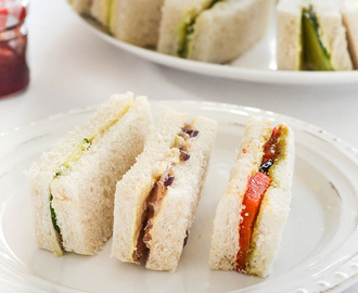 Vegan Tea Sandwiches