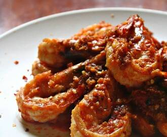 Chilli, Garlic and Butter Prawns