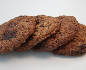 Havre chocolate chip cookies