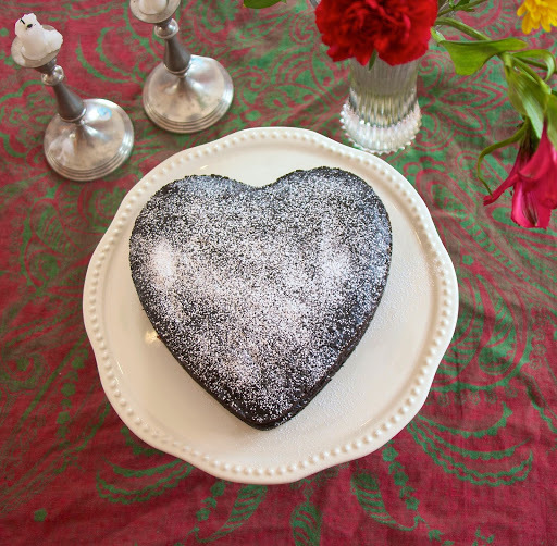 Emergency Chocolate Cake: The Valentine's Day Version #Foodie Friday